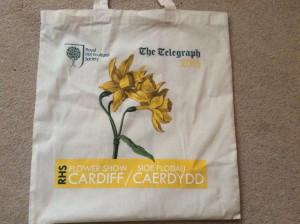 rhs cardiff daffodil bag